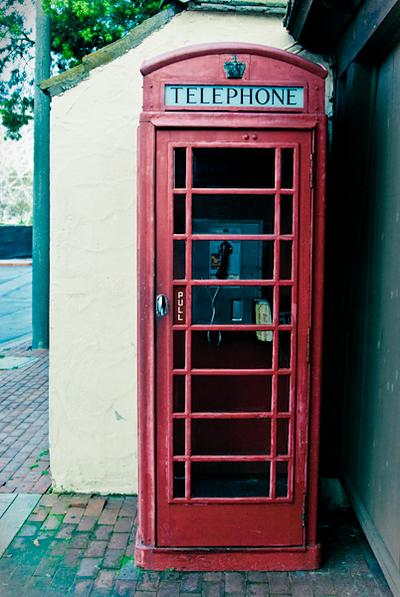 Her Majesty's Phone Booth